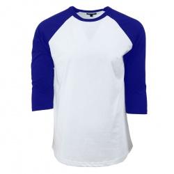 blue cotton t-shirt